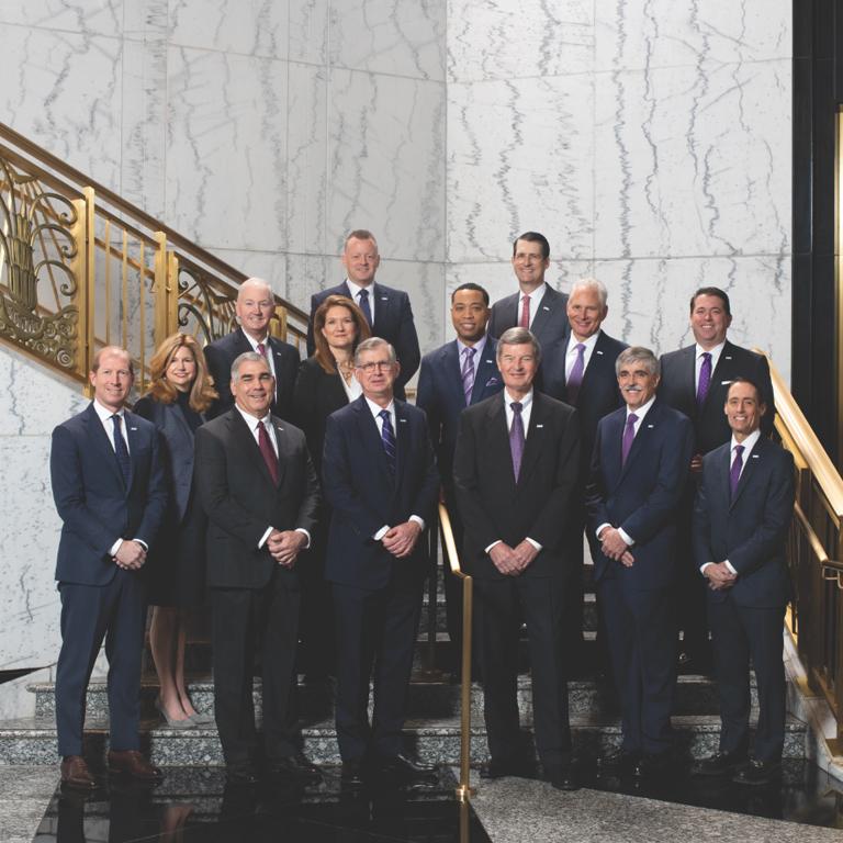 Group photo of Truist's Executive Leadership