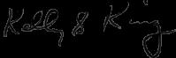 Kelly King's signature
